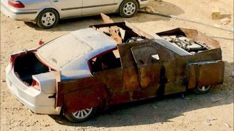 ISIS Terrorists Build An Armoured Dodge Charger