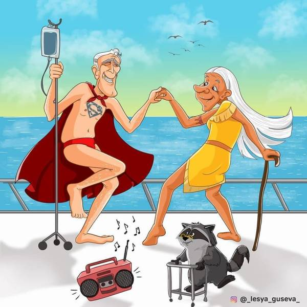 Old Superheroes