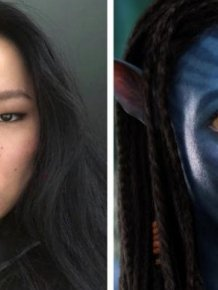 Tibetan Model Stuns Internet with Her Avatar-Like Features