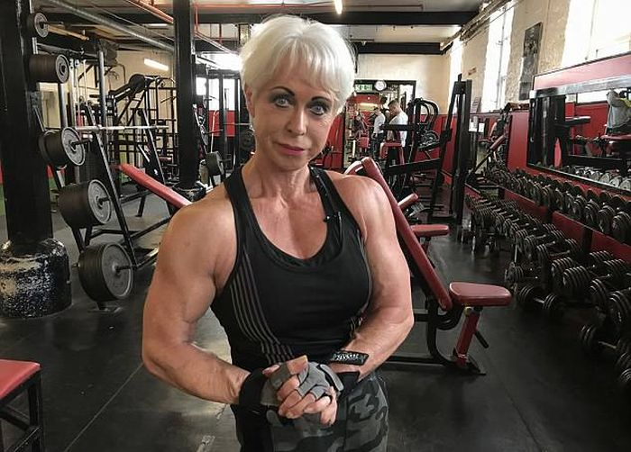 Bodybuilding Grandmother