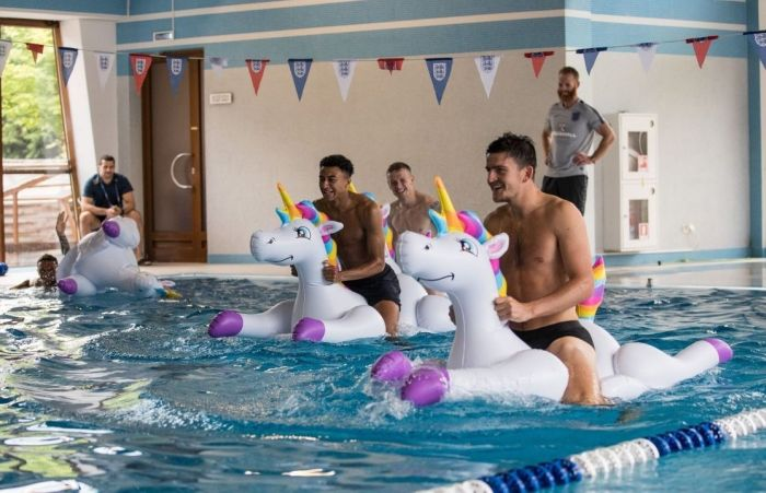 Weird Photos Of English National Football Team