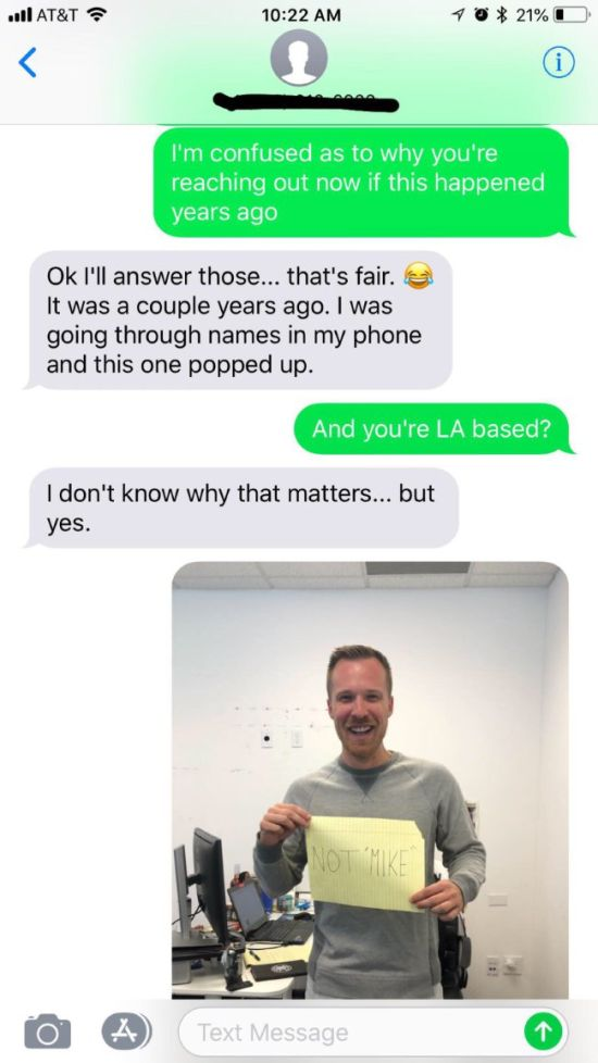 Girl Looking For Sugar Daddy Texts Wrong Number