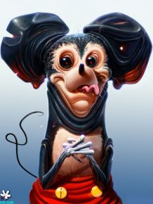 Pop Culture Characters by Dan LuVisi