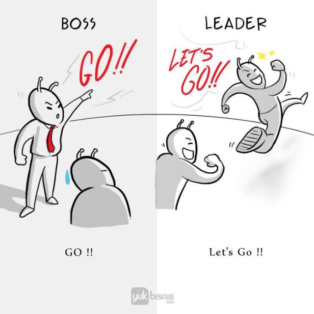 Difference Between A Boss And A Leader