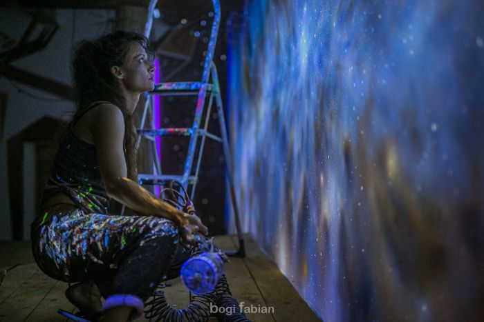 Glowing Murals Make These Rooms Look Fantastic