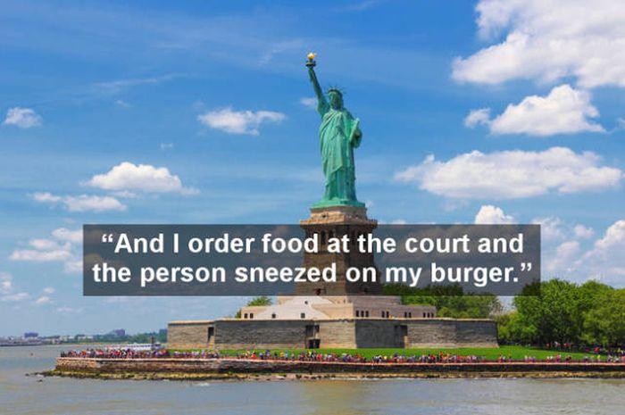 Sometimes Tourists Leave Strange Reviews