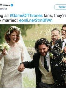 'Game of Thrones' Wedding