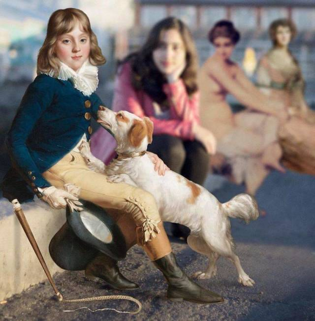 Characters From Famous Paintings In The Real World