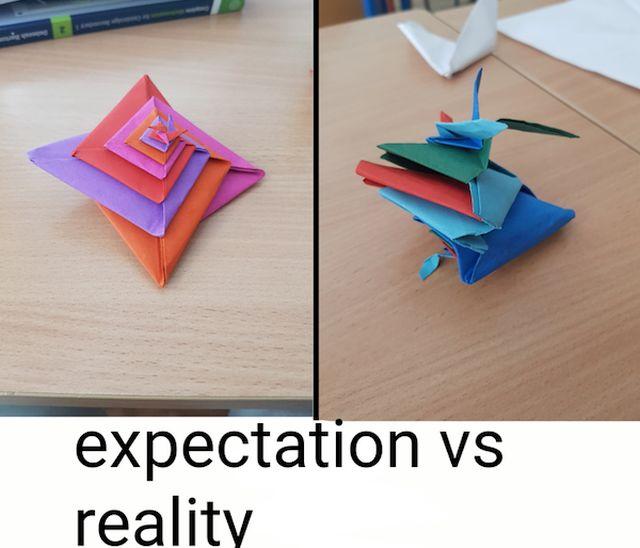 Expectations vs. Reality, part 13