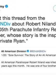 """The Real Life Story From The World War II Which Inspired """"Saving Private Ryan"""""""