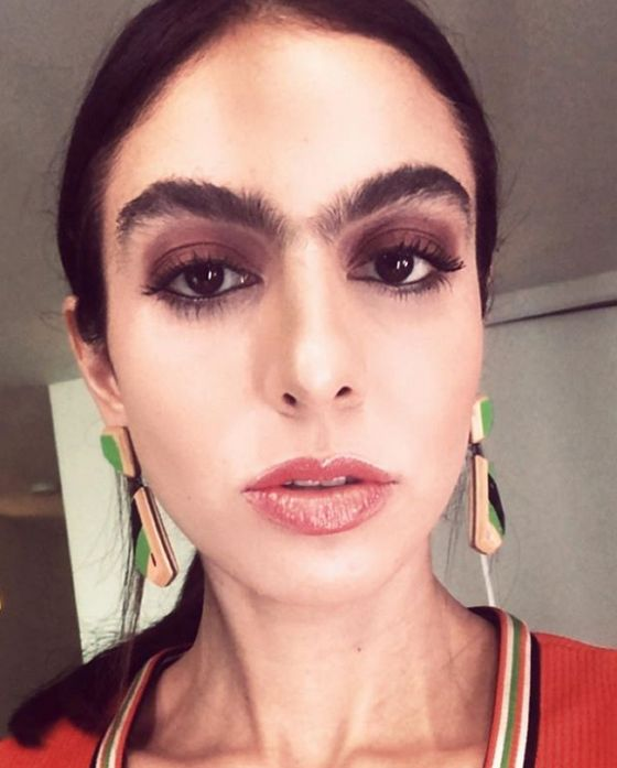 Girls With Unibrows