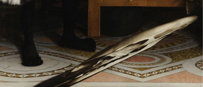 Hidden Illusion In The Ambassadors Painting By Hans Holbein the Younger, 1533, part 1533