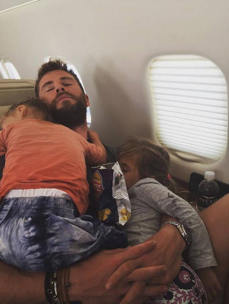 Celebrity Dads And Their Kids