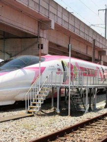 Hello Kitty Train In Japan