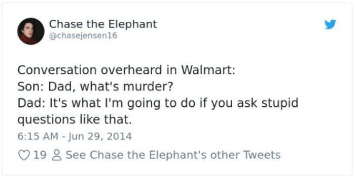 Crazy Conversations At Walmart