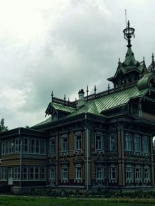Restored 19th Century Wooden Peasants Palace