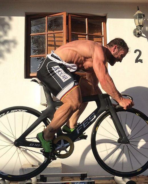 Track Cyclist  Robert Forstemann's Legs