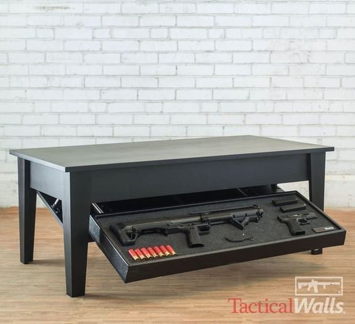Furniture Perfectly Designed To Hold Weapons