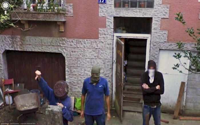 Google Street View Moments