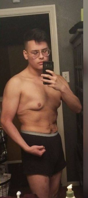 This Guy Has Lost A Lot Of Weight, part 2
