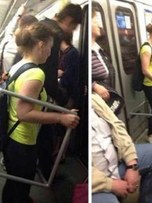 You Can See Almost Anything On Subway