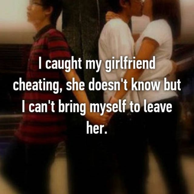 People Who Caught Their Partners Cheating