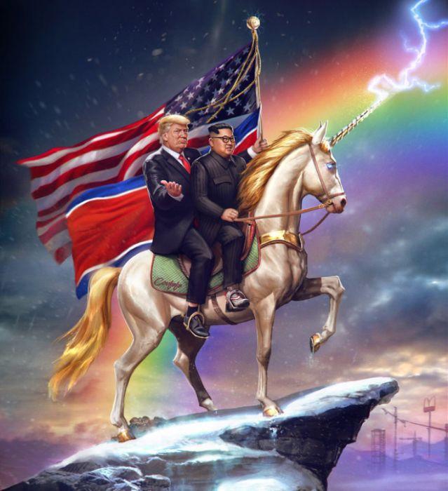 Badass Presidential Portraits