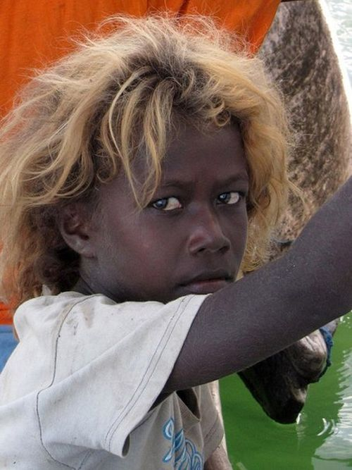 Residents Of Solomon Islands