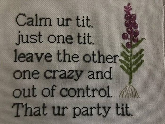 Badass Cross Stitching