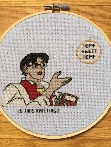 Badass Cross Stitching