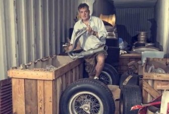 A Man From The UK Found An Abandoned Container With Parts For Assembling Ferrari 250 GTO