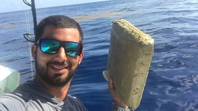 A Resident Of Florida Caught A Pack Of Marijuana