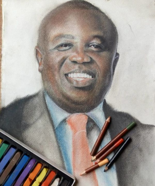 11-Year-Old Kid From Nigeria Creates Hyperrealistic Drawings
