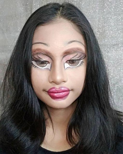 Bratz Doll Makeup