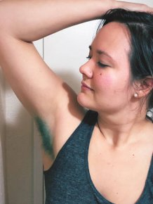 Dyed Armpits Is The New Craziness Of Instagram