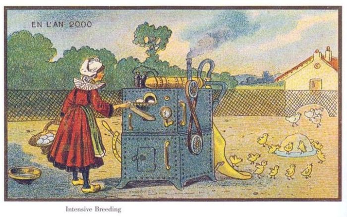 The World Of The Future In This Series Of French Postcards From The 19th Century