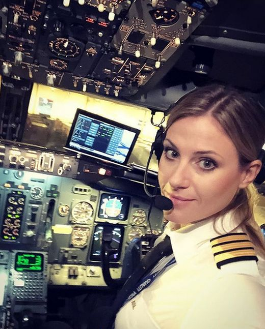 Swedish Pilot Is Now A Popular Instagram Star