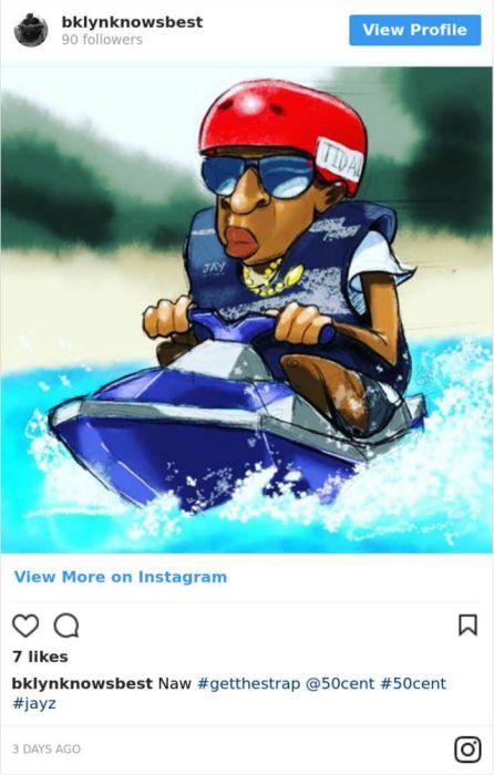 Jay-Z On A Jet-Ski Meme