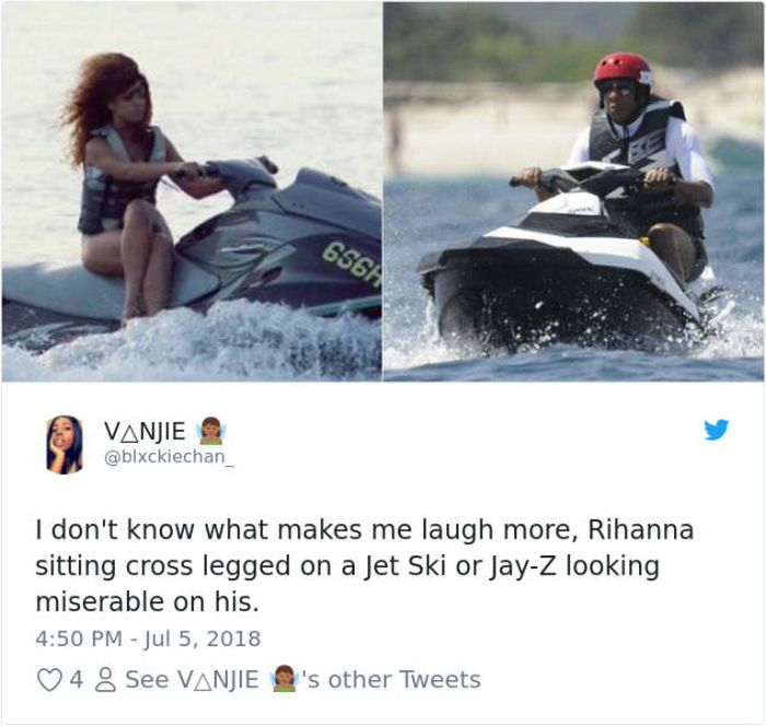 Jay-Z On A Jet-Ski Meme