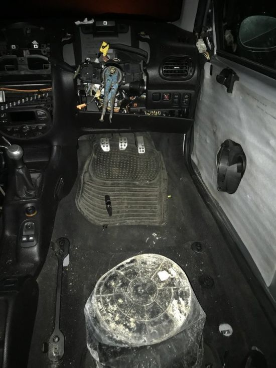 Police Has Stopped A Strange Car...