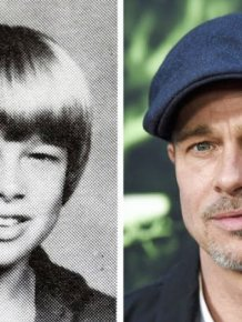 Celebs Now And Back In School Years