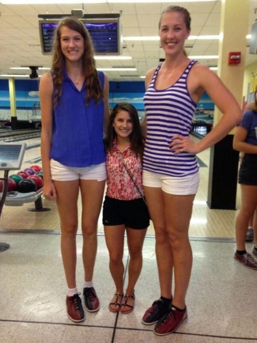 Very Tall Women