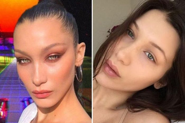 These Celebs Look Better Without Make-up