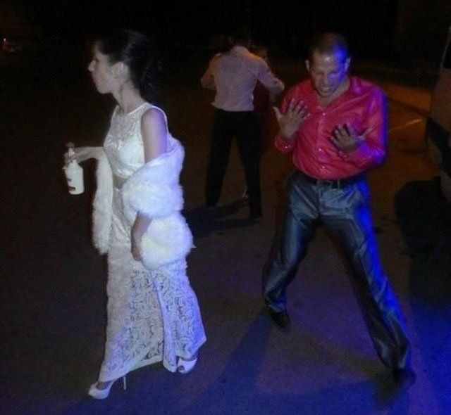 Awkward Russian Wedding Moments