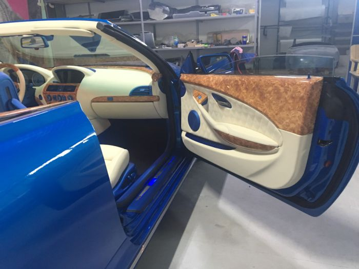 Custom Russian Pobeda / BMW Car