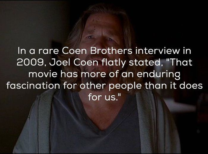 Facts About 'The Big Lebowski'