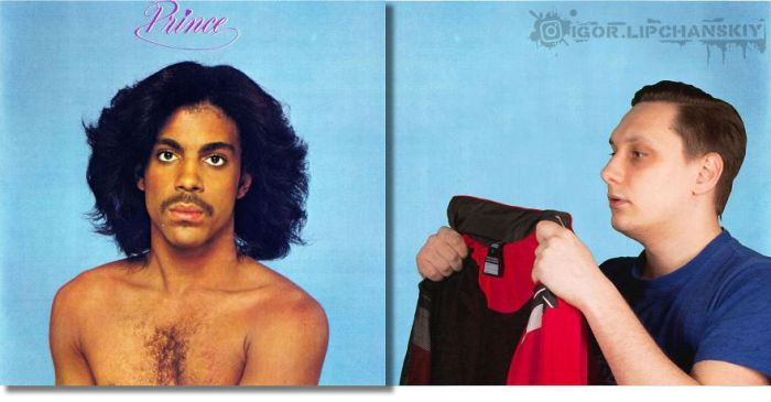 This Guy Puts Himself On The Covers Of Music Albums