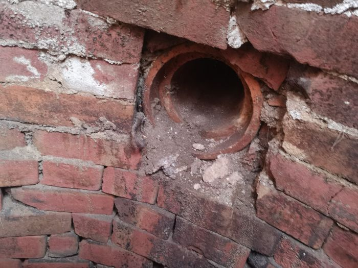 A Hole Opened Up In Garden And It Was A Brick Chamber