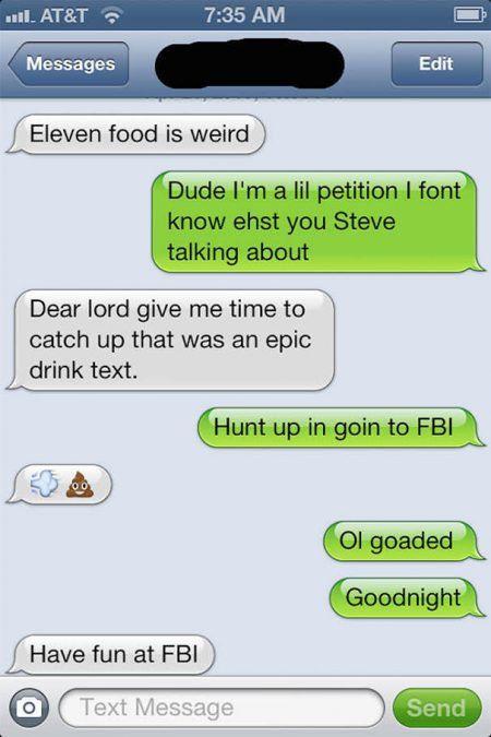Drunk Texts, part 2