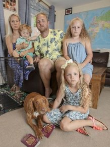 The Family Missed Their Vacation Because Of A Puppy Who Has Eaten A Passport